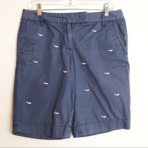 J. Crew City Fit Bermuda Shorts-Size 4